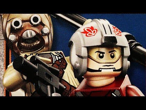LEGO Star Wars T-16 Skyhopper (Timelapse & Review) - Set 75081