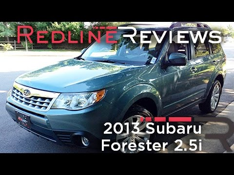 2013 Subaru Forester 2.5i Review, Walkaround, Exhaust, & Test Drive
