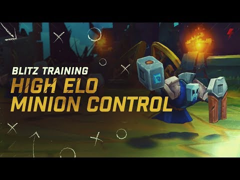 How to control minion waves like high ELO players - Freezing, Slow Pushing, &amp Fast Pushing Guide
