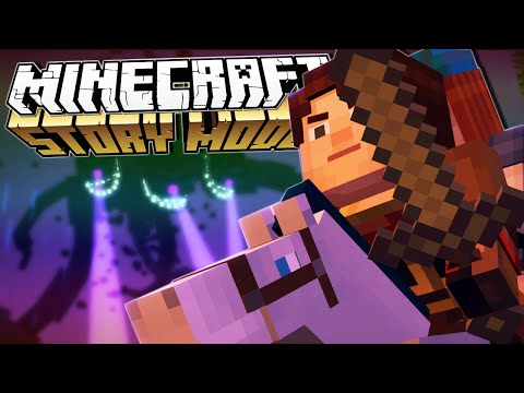 Download Minecraft Story Mode | A BLOCK AND A HARD PLACE!! | Episode 4 [#1]