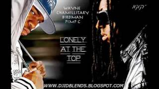 Lil Wayne- Lonely At The Top ft. Chamillionaire, Birdman, & Pimp C