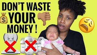BABY ITEMS I REGRET BUYING! | WHAT YOU DON'T NEED! | FIRST TIME MOM