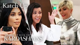 "Kim Handles Christmas Party Chaos & Kris Questions Kourtney About Scott: ""KUWTK"" Katch-Up (S16, Ep9)"