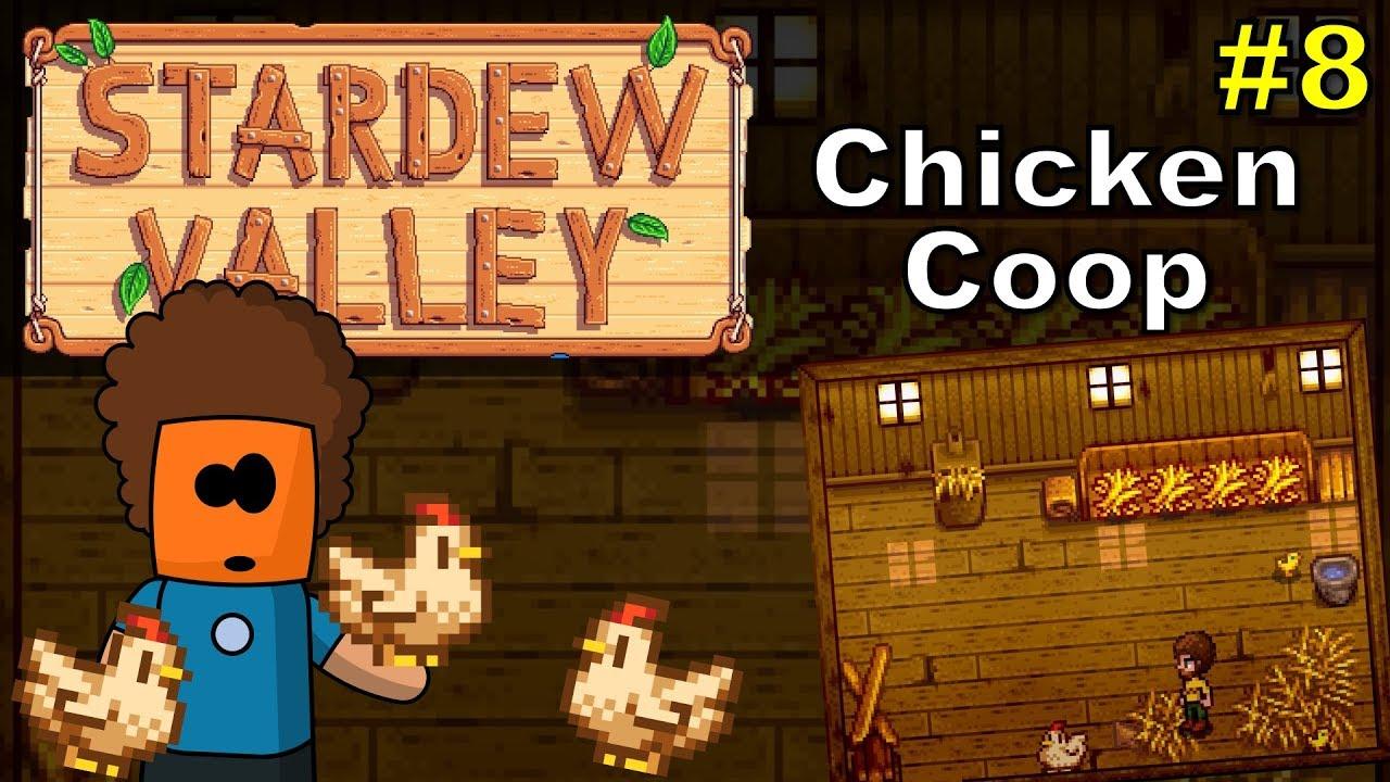 Stardew Valley #8 | Chicken Coop