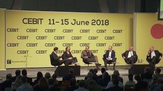 "Auftakt zur ""neuen"" CEBIT 2018"