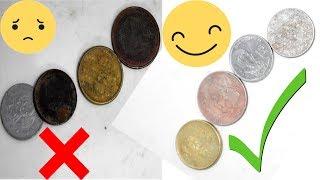 Como Limpiar Monedas Antiguas FACILITO!!