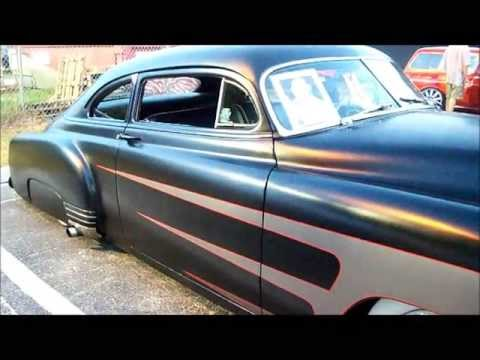 """Black Jack""  1952 Kustom Chevy"