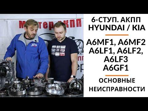 6-ступ. АКПП Hyundai/Kia A6MF1, A6MF2, A6LF1, A6LF2, A6LF3, A6GF1