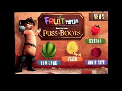 Fruit Ninja : Puss in Boots IOS