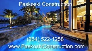 South Florida Custom Home Builder (954) 522-1258 Paskoski Construction