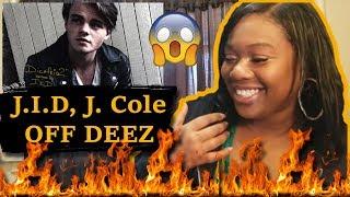 😱HE IS NEXT UP🔥 Mom Reacts To J.I.D, J. Cole   Off Deez (Audio) Ft. J. Cole   Reaction