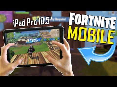 FAST MOBILE BUILDER on iOS / 525+ Wins / Fortnite Mobile + Tips & Tricks!