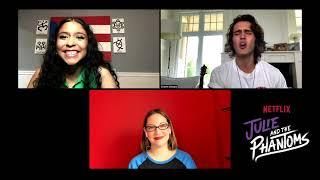 Brief Take | JULIE AND THE PHANTOMS stars Madison Reyes & Charlie Gillespie