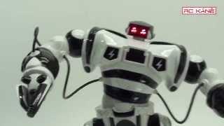 Robot Emil uvádí RC modely Káně