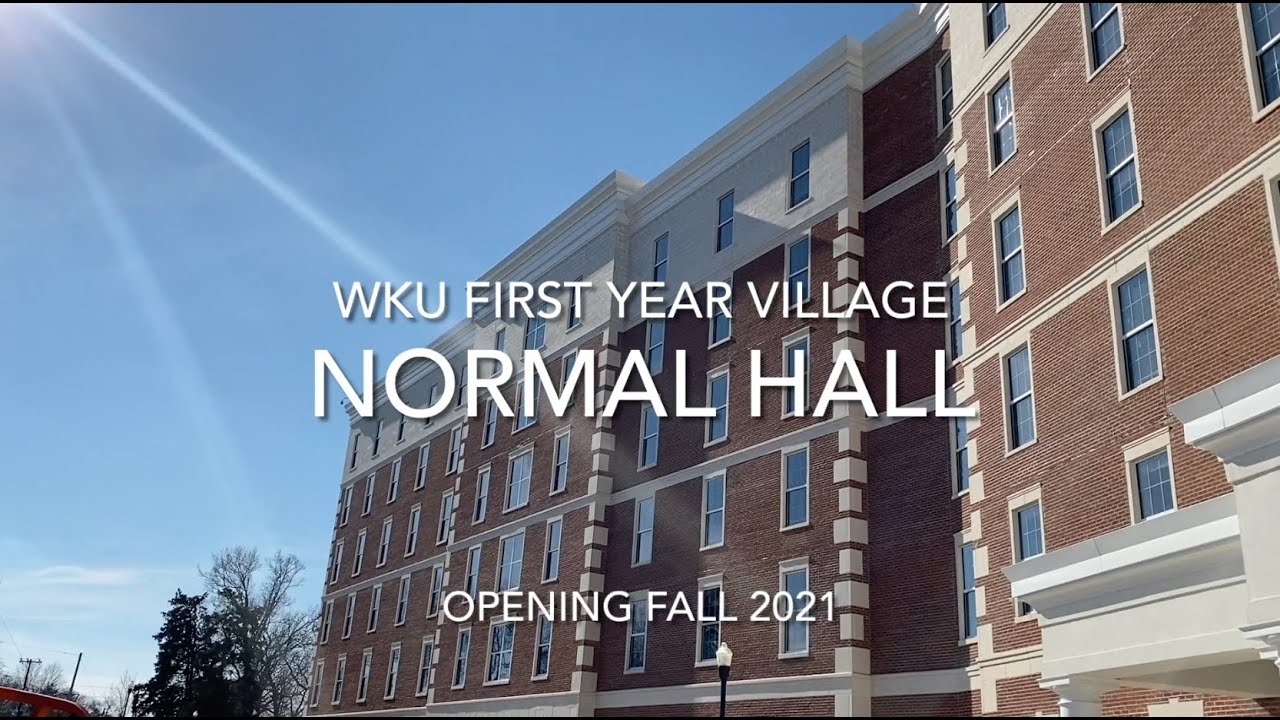 WKU Normal Hall Update | First Year Village | March 2021 Video Preview