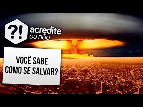 VOCÊ SABE O QUE FAZER SE UMA BOMBA NUCLEAR EXPLODIR PERTO DE VOCÊ?