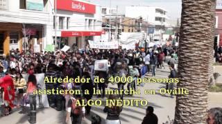 preview picture of video 'LA PRIMAVERA CHILENA - Marcha de la CUT en Ovalle 25/Agosto/2011 [etnomedia]'