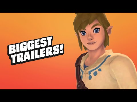 Watch the 11 Biggest Game Trailers From Nintendo Direct