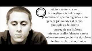 "Cancion de la prisión -Canserbero (Letra) ""Graham Nash-Prision Song"""