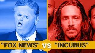 FOX NEWS VS INCUBUS - Google Trends Show