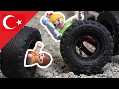 Playmobil Türkçe Oyun Parkında- Hauser Ailesi - Çocuk filmi