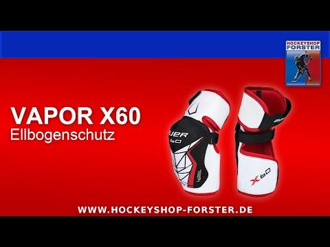 TESTBERICHT BAUER VAPOR X60 ELLBOGENSCHUTZ | HOCKEYSHOP FORSTER