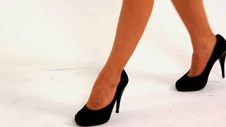 How To Walk In High-Heeled Pumps | High Heel Walking