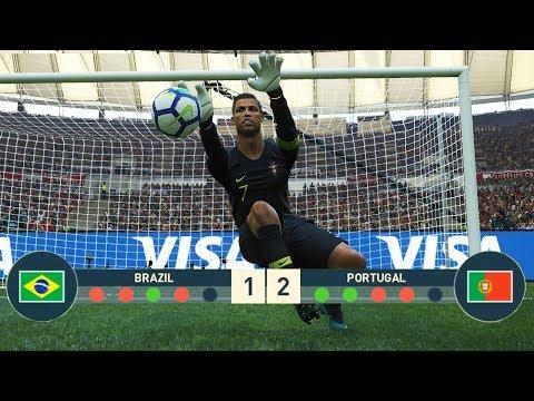 Download Pes 2018 Goalkeeper Neymar Vs Goalkeeper Ronaldo Penalty