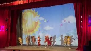 Танец Конфетки - Алина со своим коллективом