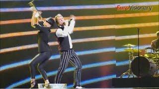 Romania Eurovision Song Contest Highlights 2010 - 2015