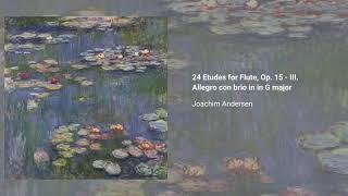 24 Etudes for Flute, Op. 15