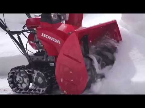 Honda Power Equipment HSS724ATD in Anchorage, Alaska - Video 1