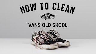 How To Clean Vans Oldskool With Reshoevn8r