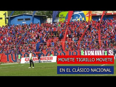 """""""TR Mostrando al zope como alienta una hinchada de verdad"""" Barra: Turba Roja • Club: Deportivo FAS"""