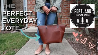 The Perfect Everyday Tote From Portland Leather Goods
