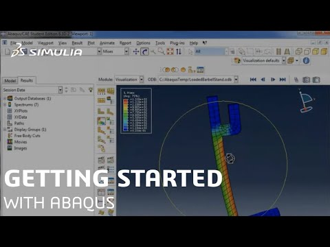 Getting Started With Abaqus | SIMULIA Tutorial - YouTube