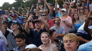 2018 PGA Tour Championship Day 4   East Lake Golf Course   18th Hole Tiger Woods *Fan Footage*