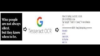 tesseract ocr - TH-Clip