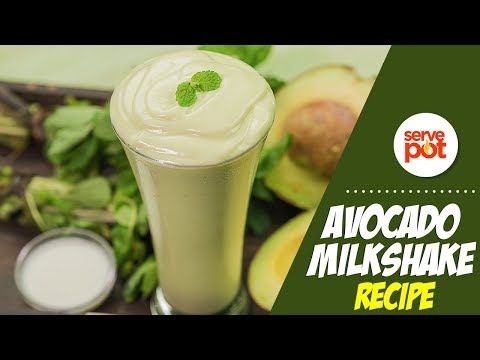 Learn How To Make Avocado Milkshake