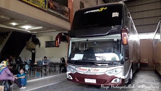 Armada Bus Sempati Star BARU! Review Bus Volvo B11R 430 HP Body Jetbus UHD 3+ Adiputro.