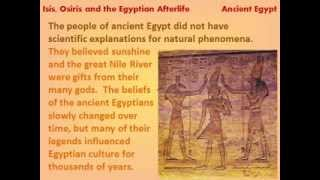 Isis, Osiris and the Egyptian Afterlife - reading lesson for kids