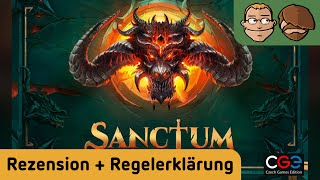 Sanctum - Brettspiel - Review und Regelerklärung
