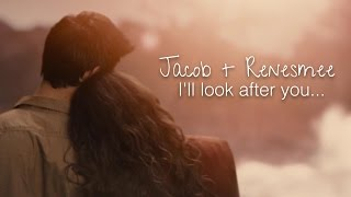 -Рассвет- Стефани Майер, The Twilight Saga | Jacob + Renesmee | I'll look after you...