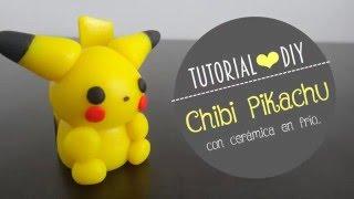 ¡Cómo Hacer A Pikachu Con Cerámica En Frío! ❤ DIY, Cerámica