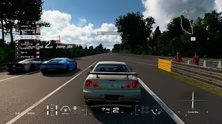GT Sport:200MPH Street Battles w/ 900HP R34 GTR