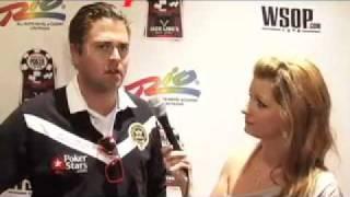 2010 WSOP Main Event Day 7 -- William Thorson