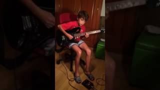 Cover guitar Cissy Strut (by Manuel Luna ) 10 years