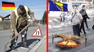 Ponašanje Bosanca u Njemačkoj VS u Bosni