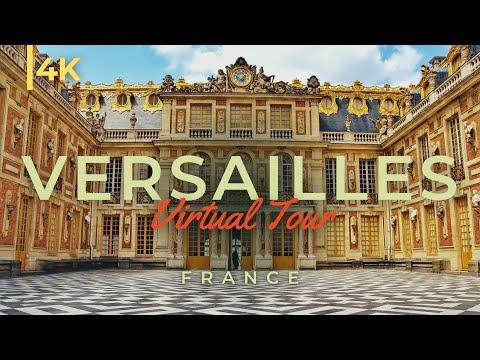 סיור מרהיב בארמון ורסאי באיכות 4K מתקדמת