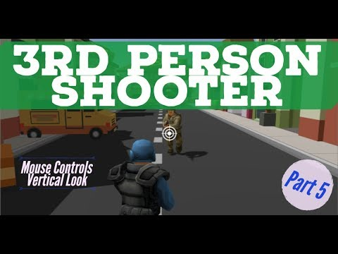 HowTo: Build a 3rd person shooter in Unity - Part 5